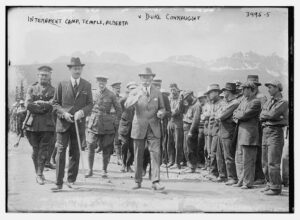 Internment camp, Temple, Alberta -- Duke Connaught (LOC)