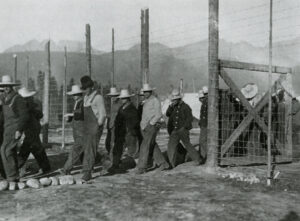 Castle Mountain camp 1915
