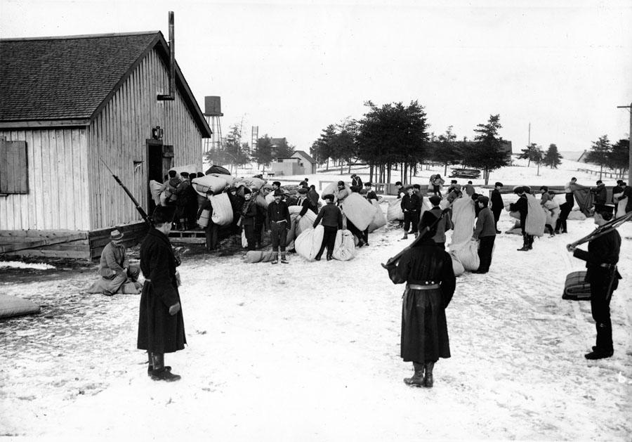 Petewawa Internment camp